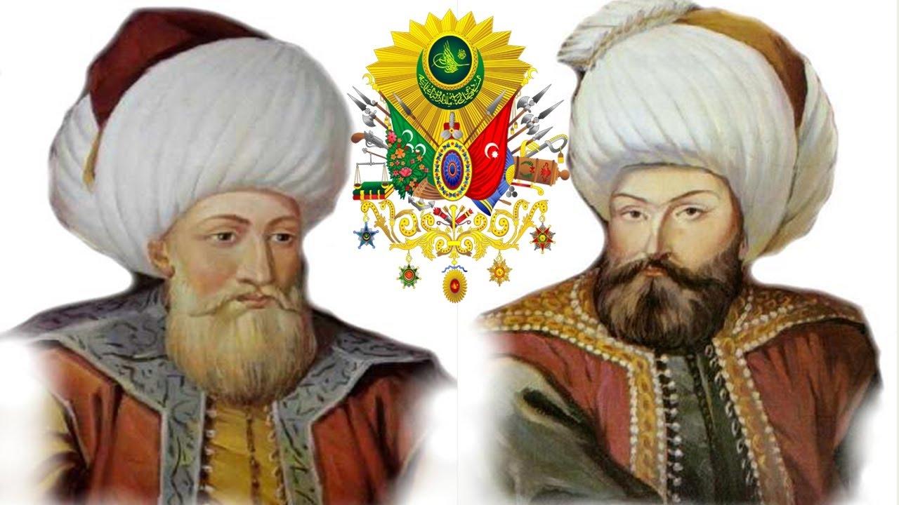 Ottoman Sultans Osman Orhan gazi