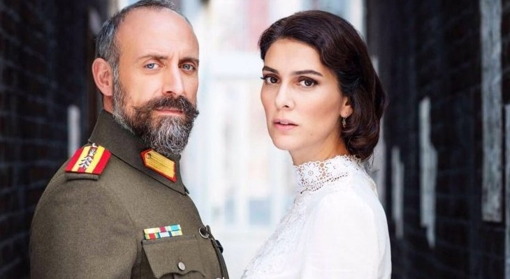Wounded Love's Leading Actors Halit Ergenc and Berguzal Korel