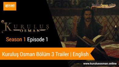 Kuruluş Osman Bölüm 3 Trailer | English