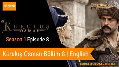 Photo of Kuruluş Osman Season 1 Episode 8 | English (Bölüm 8)