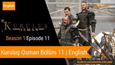 Photo of Kuruluş Osman Season 1 Episode 11   English (Bölüm 11)