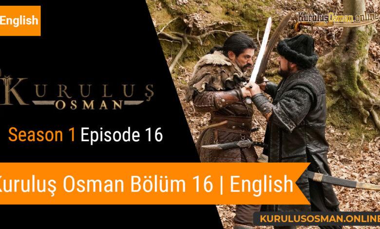 Photo of Kuruluş Osman Season 1 Episode 16 | English (Bölüm 16)