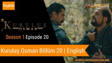 Photo of Kuruluş Osman Season 1 Episode 20 | English (Bölüm 20)