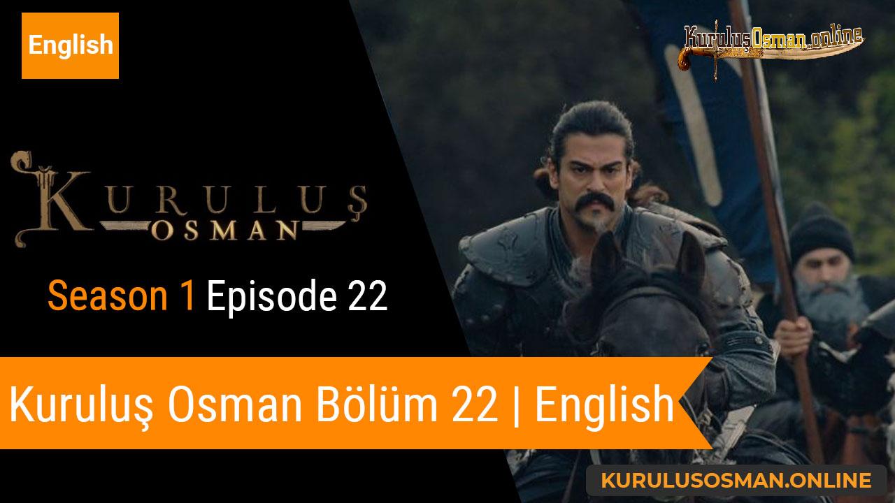 Watch Kuruluş Osman Season 1 Episode 22 with English Subtitles