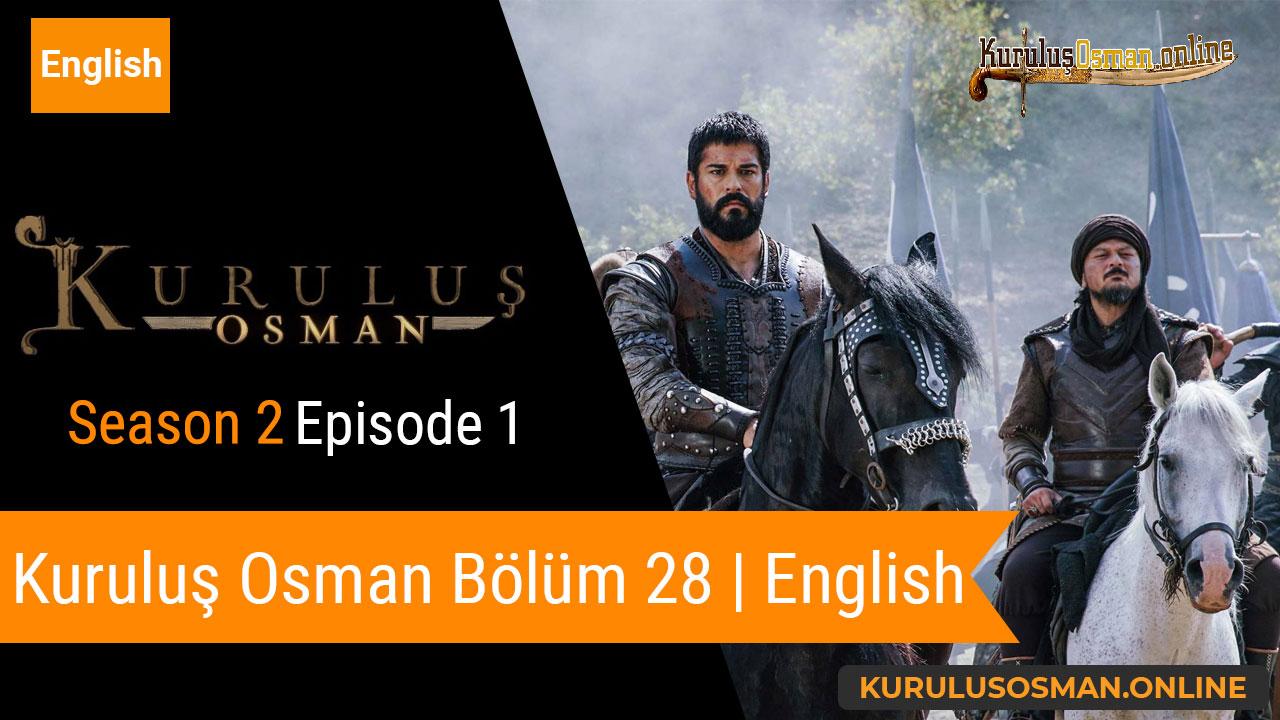 Watch Kuruluş Osman Season 2 Episode 1 with English Subtitles