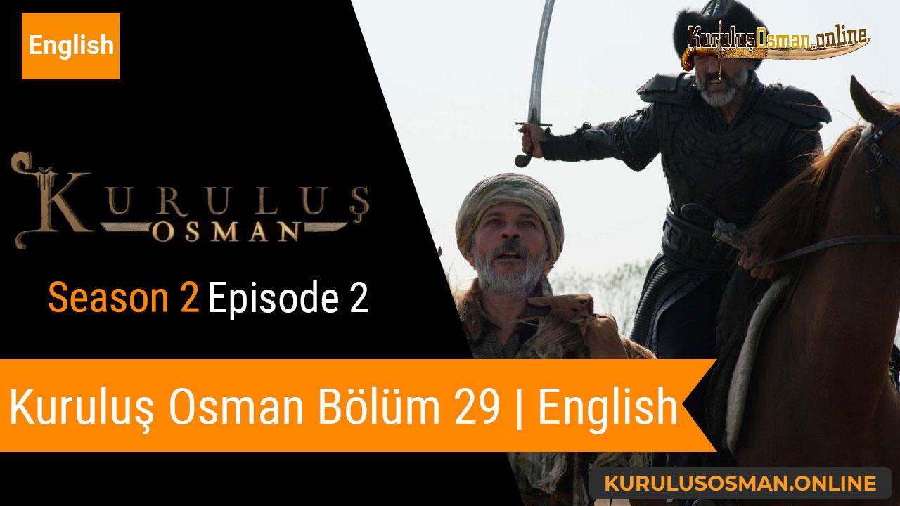 Watch Kuruluş Osman Season 2 Episode 2 with English Subtitles