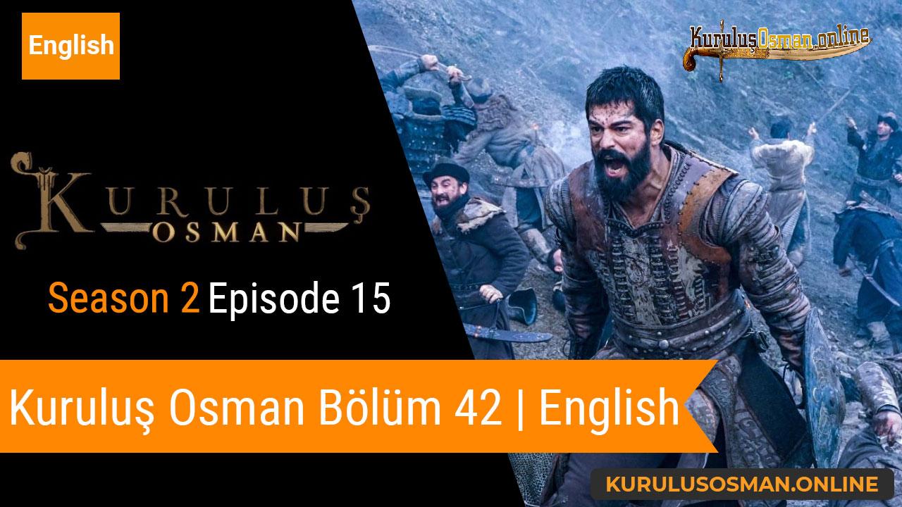 Kuruluş Osman Season 2 Episode 15