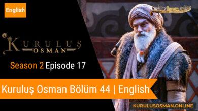 Kuruluş Osman Season 2 Episode 17