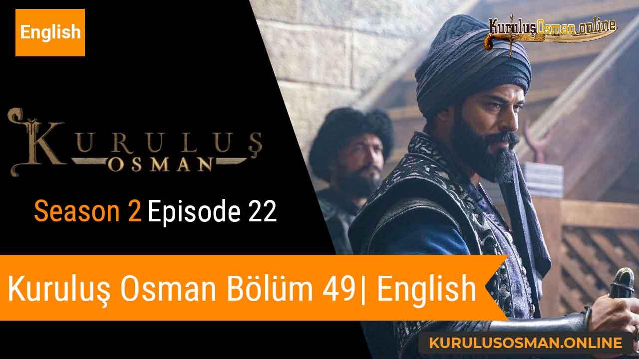 Kuruluş Osman Season 2 Episode 22