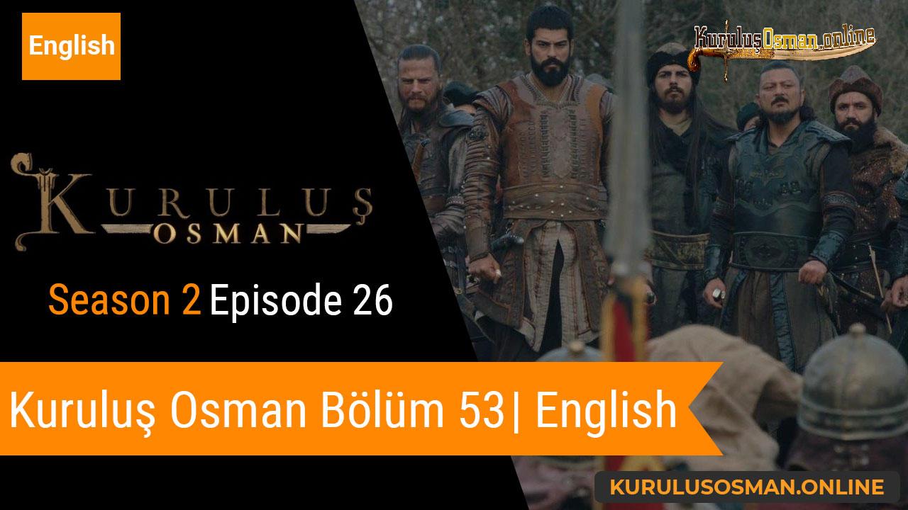 Kuruluş Osman Season 2 Episode 26