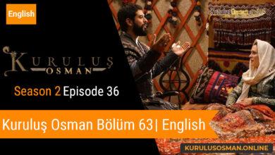Kuruluş Osman Season 2 Episode 36